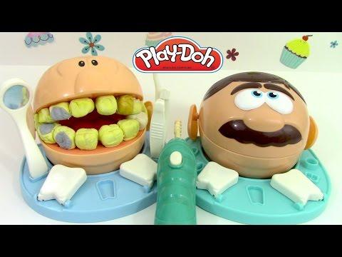 p 226 te 224 modeler le dentiste play doh dr drill n fill el dentista bromista vidoemo emotional