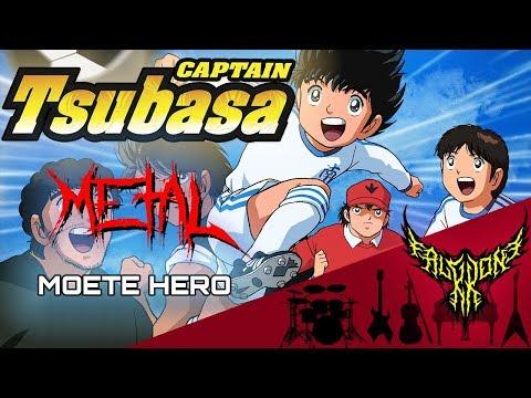 Captain Tsubasa - Moete Hero 【Intense Symphonic Metal Cover】