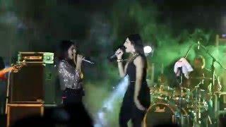 sukriti & prakriti kakar live concert in reva university