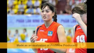 Batkuldina Aliya - Hot girl bóng chuyền VTV Cup 2013 - 2017