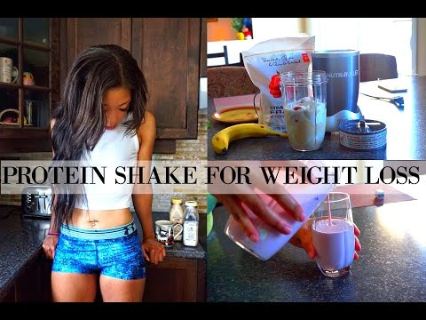 HEALTHY PROTEIN SHAKE FOR WEIGHT LOSS & MUSCLE BUILDING | How To Use Whey Protein