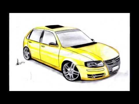 desenhos de carros daniel garcia