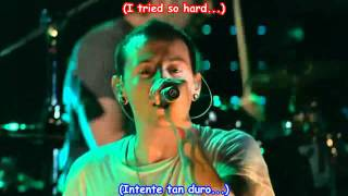 Linkin Park   In The End Subtitulado Español   Ingles Live in New York HD
