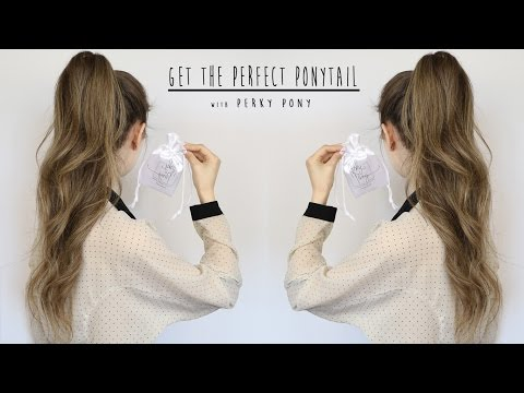 Get the perfect high and voluminous Ponytail | Tutorial Perky Pony