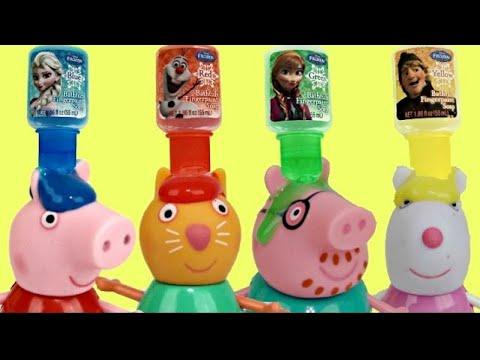 Xxx Mp4 Peppa Pig BATH PAINT Fun Toy Surprises Amp Bubbles Toys Unlimited 3gp Sex