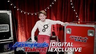 Merrick Hanna is Lost for Words Over the Crowd's Reaction - America's Got Talent 2017