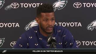 Eagles Press Pass: WR Mike Wallace (3/23/18)