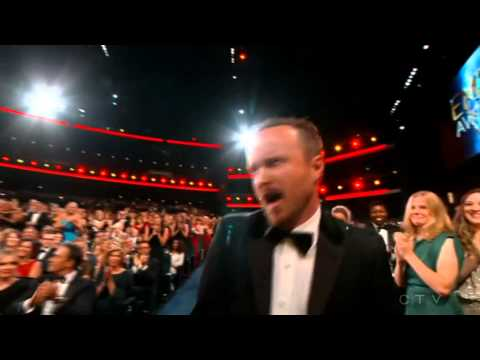 Aaron Paul wins an Emmy for