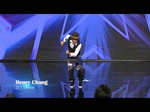 Henry Chang Taiwan dancer Audition | Myanmar's Got Talent 2017 Season 4 ျမန္မာ