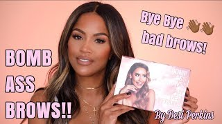 MY EYE BROW ROUTINE USING BENEFIT X DESI PERKINS | MAKEUPSHAYLA