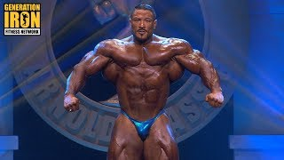 Roelly Winklaar Arnold Classic 2018 Posing Routine | Generation Iron