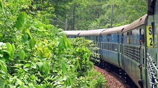 MONSOON RAILWAYS!!! ENCHANTING CHHOTANAGPUR: Part-1:- Rourkela-Ranchi.. TWIN ALCo Treat..