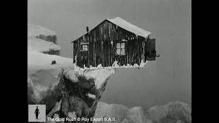 Charlie Chaplin - The Gold Rush - Cabin Rocking Over Cliff Edge