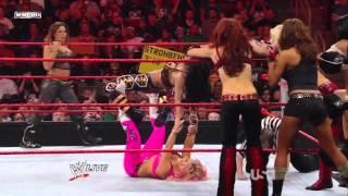 Raw Divas vs. Smackdown Divas