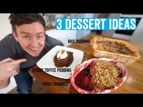 How to make a roast dinner 6 3 delicious desserts