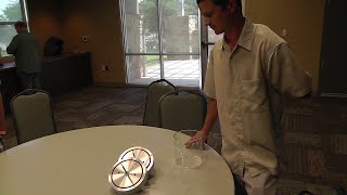 People With Fun Stuff At BEM! Home Made Plasma Discharge Device.