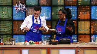 Oprah Winfrey Cooks Stephen A Sexy Breakfast