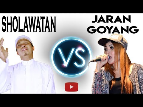 SHOLAWATAN ANTI JARAN GOYANG - Parody Nella Kharisma ( Music Video ) COVER