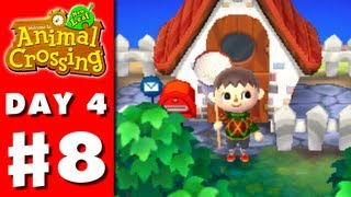 Animal Crossing: New Leaf - Part 8 - My New House! (Nintendo 3DS Gameplay Walkthrough Day 4)