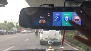 Phisung E06 4G Car Mirror DVR ADAS