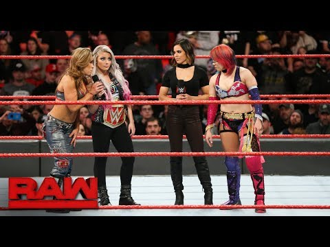 Xxx Mp4 Alexa Bliss Applauds Asuka S WrestleMania Decision Raw March 12 2018 3gp Sex