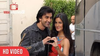 Ranbir Kapoor and Katrina Kaif Spotted at Mehboob Studio | Promoting Jagga Jasoos