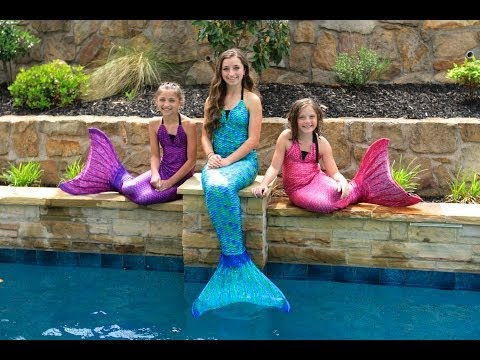 Live Mermaids Swimming In Our Pool Full Mobile Movie