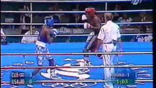 Floyd Mayweather Jr (USA)  vs Lorenzo Aragon (CUBA) Pt.1\2