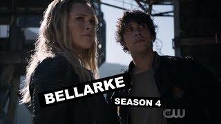 the 100 - all bellarke moments / season 4