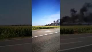 Cherasco: grave incendio in frazione Veglia