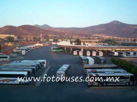 Autobuses en Morelia Michoacan VAGANDO POR LAS TERMINALES DUETO FRONTERA