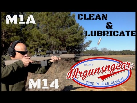 How To Clean & Lubricate A Springfield Armory M1A Or M14 Rifle HD