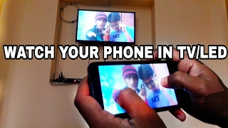 Use Your Lenovo  | Micromax | Samsung And More Android Phone in TV/LED  By WiFi Of Your Android