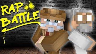 Minecraft RAP BATTLES - MAD SCIENTIST PRANKS THE NEW TEACHER!