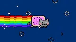 Nyan cat party rock