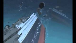 El naufragio del Titanic en 3D
