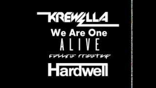 Hardwell vs Krewella -  We Are One Alive (Collins Mashup)