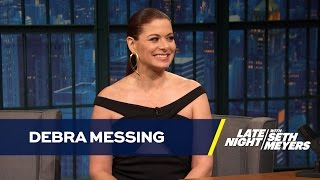 Debra Messing Credits Presidential Election for Will & Grace