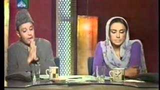 """ALHAJ KHURSHEED AHMED(Late) INTERVIEW ON PTV BEST """"NAAT KHAWAN"""""""