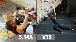 Hardest Problems In K2 VS Emil - Climbing In The Tunnel And Bouldering