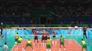 Volleyball Brazil - Fivb Technical Videos - Olympic Games 2008 Men