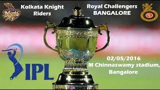 IPL 2016 - Yusuf Pathan Innings Full Highlight  60 of 29 balls - RCB VS KKR - MATCH 30