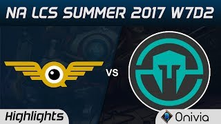 FLY vs IMT Highlights Game 3 NA LCS Summer 2017 FlyQuest vs Immortals by Onivia