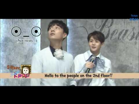 160805 Innoncent Doojoon, Yoseob everyone idol Cute Gikwang SIMPLY K-POP Ep.226