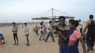 Sunday at Marina Beach in Chennai