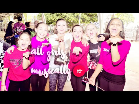Dance Moms Girls Musical.ly Complimation | November - January 2016