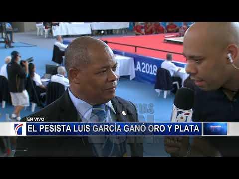 Xxx Mp4 El Dominicano Luis García Gana Oro En Arranque De Los 56kg E Impone Nuevo Récord 3gp Sex