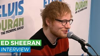 Ed Sheeran Chats About Giving Up His Smart Phone + Upcoming Album,