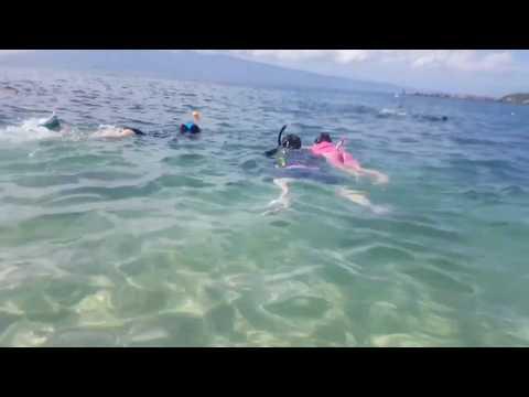 Snorkeling on Kapaula Beach