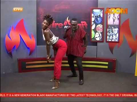 Xxx Mp4 Ebony Dances With Countryman Songo Fire 4 Fire On Adom TV 20 11 17 3gp Sex